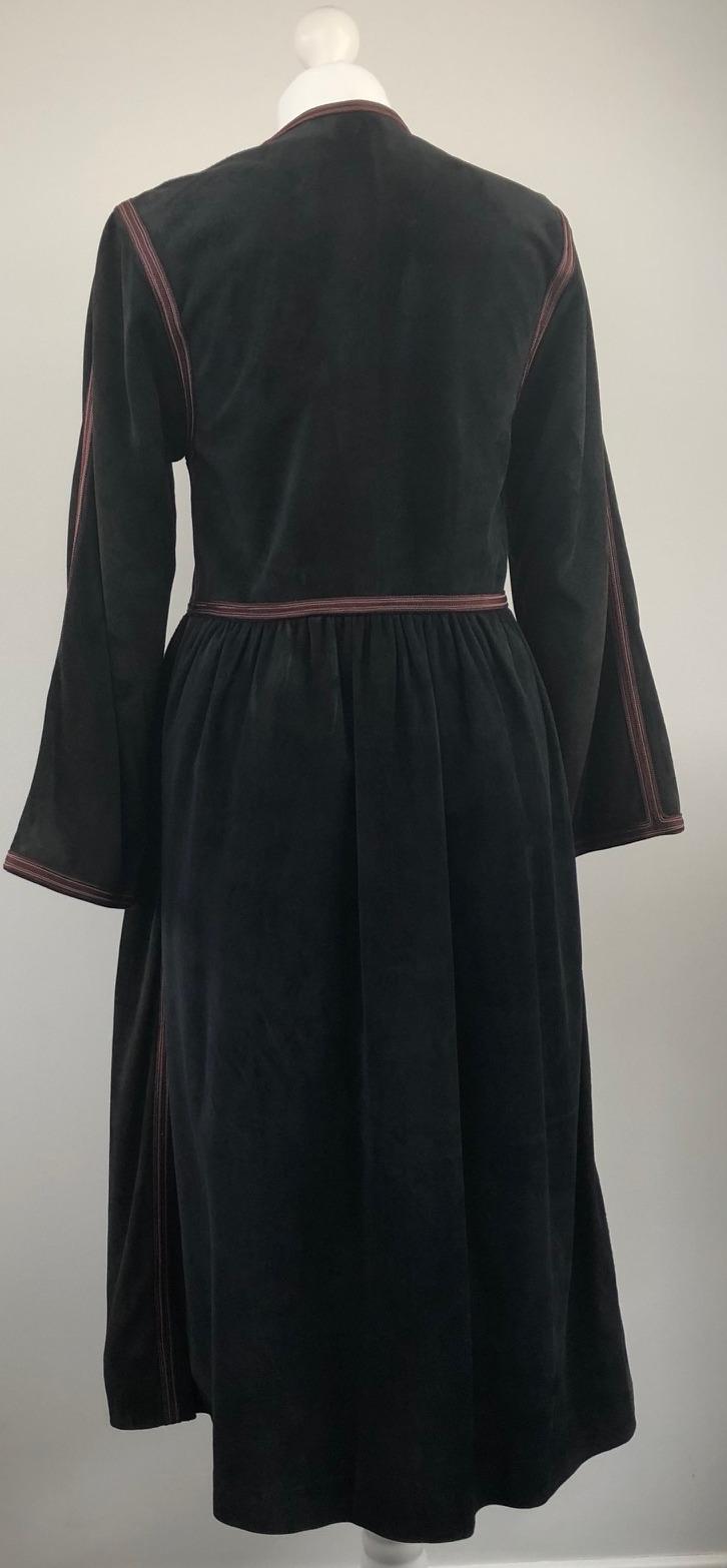 Yves Saint Laurent Russian Collection Coat 1976 Rare