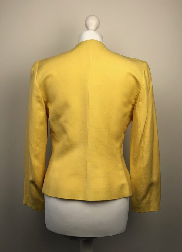 Yves Saint-Laurent rare yellow jacket Size 38