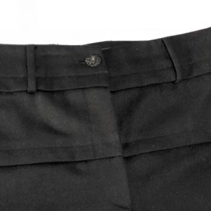 CHANEL Black Wool Trousers – Pants