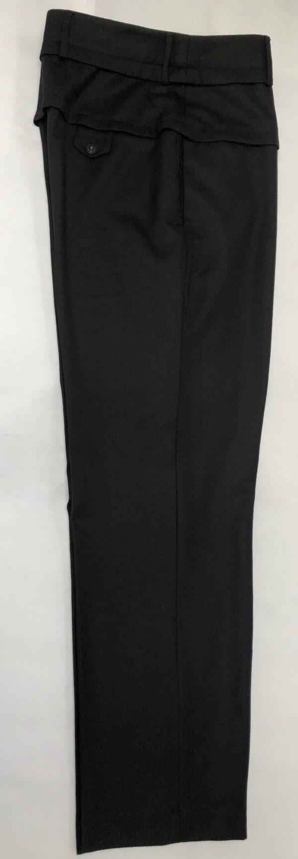 CHANEL Black Wool Trousers – Pants