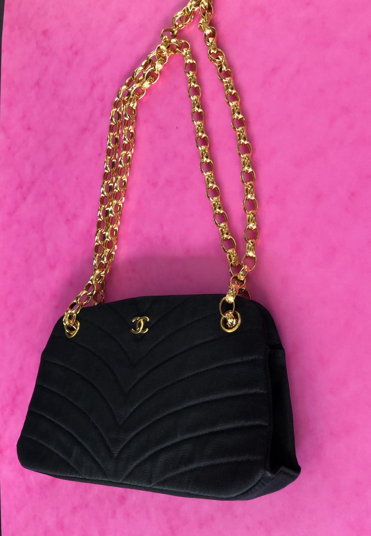Chanel Shoulder Purse Handbag Rare
