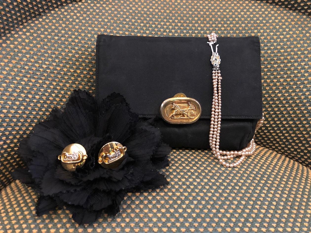 d301305ae7a81 CELINE Vintage Clutch - Chelsea Vintage Couture