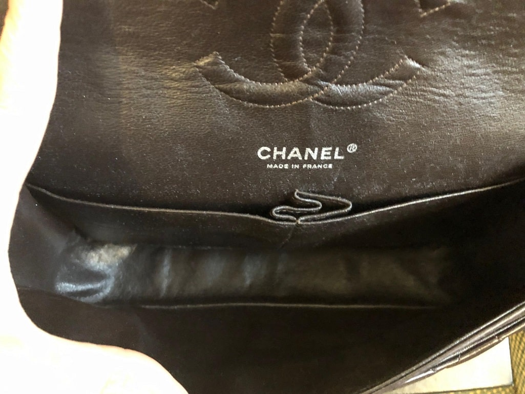 2cdb4e837942 CHANEL Vintage Double Flap Quilted Chain Shoulder Bag Timeless 2.55 ...